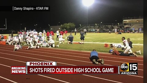 PD: Shots fired outside Betty Fairfax high school football game, no injuries reported