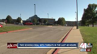 2 schools deal with threats in 48 hours - Video