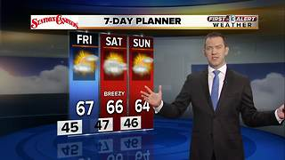 13 First Alert Weather for January 4 2018 - Video