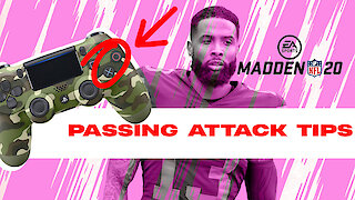 Madden tips to improve your passing attack