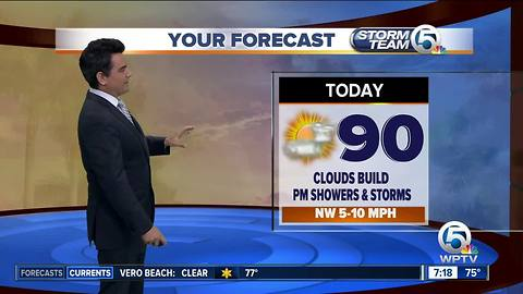 South Florida weather 6/23/18