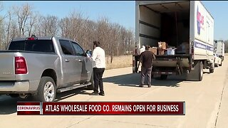 Wholesale food company offering groceries to public to survive COVID-19 outbreak
