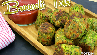 How to make healthy broccoli tots - Video