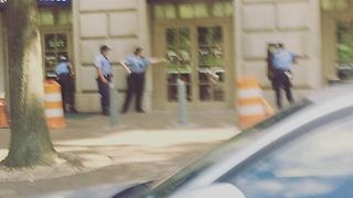 Police Respond to Active Shooter Near EPA Building, Reports 'Unfounded' - Video
