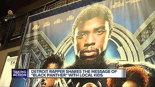 Detroit rapper to hold 'Black Panther' screening - Video