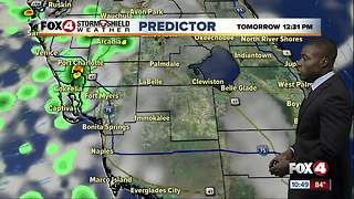 Wet weather to start the work week - Video