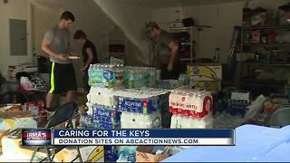 Tampa couple starts relief effort for Hurricane Irma victims in the Florida Keys - Video