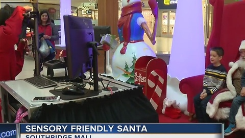 Sensory friendly Santa