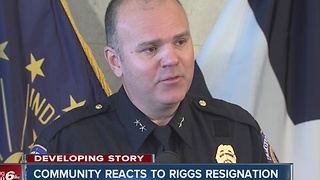 Community reacts to IMPD Chief's resignation - Video