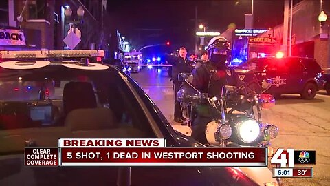 One dead, four injured in officer-involved shooting in Westport