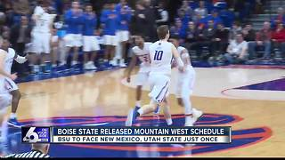 2018-19 Mountain West Schedule Released - Video