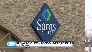 Sam's Club plans to permanently close West Allis location - Video
