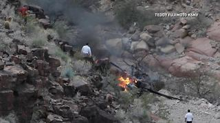 3 dead in tour helicopter crash at Grand Canyon - Video