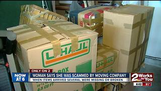 Woman says she was scammed by moving company - Video