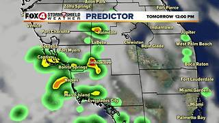 Humid, Few Storms Sunday - Video