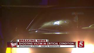 Man Critically Hurt In North Nashville Shooting - Video