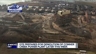 DTE prepares for demolition of Conner Creek Power Plant