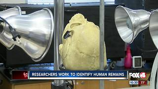 Researchers work to ID human remains