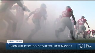Union Public Schools reconsidering name of its mascot