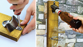 How to build a fantastic beer cap remover - Video