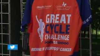 Riders peddle for a good cause in Casco - Video