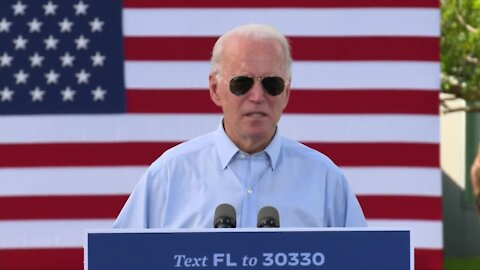 WEB EXTRA: Joe Biden holds campaign event in Broward County (22 minutes)