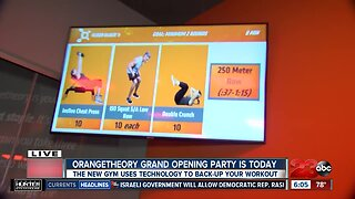 Orangetheory grand opening today