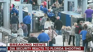 DIA security reacts to Florida shooting - Video