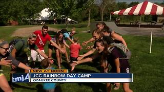 JCC Rainbow Day Camp hosts kids from Children's Hospital of Wisconsin - Video