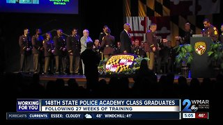 148th State Police Academy Class Graduates