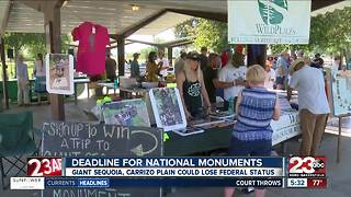 President to hear recommendations for national monuments - Video
