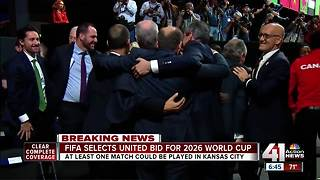 North America wins vote to host 2026 World Cup - Video