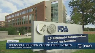 Will Johnson & Johnson vaccine rollout in time to help Florida?
