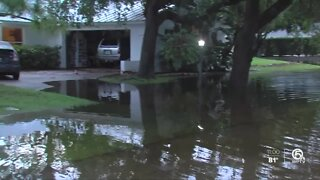 Areas of Hobe Sound flooded by heavy rains