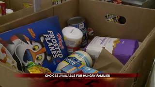 Organization helps hungry families