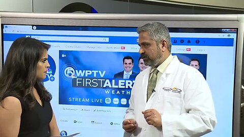 WATCH: Coronavirus Q&A on WPTV Facebook with infectious disease specialist