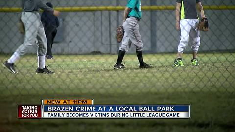 As parents watch little league game, Pasco thief is breaking into their cars