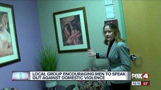 Men take a stand against domestic violence