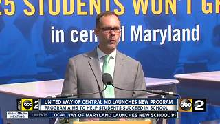 New initiative aims to improve Baltimore City School's dropout rate - Video