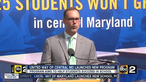 New initiative aims to improve Baltimore City School's dropout rate