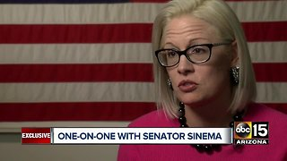 One-on-one with Arizona Senator Kyrsten Sinema