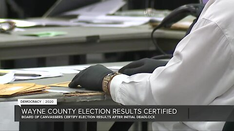 Wayne County Board of Canvassers change course, unanimously votes to certify election results