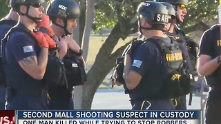 Second mall shooting suspect in custody