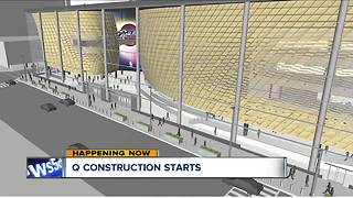 TRAFFIC ALERT: Q Transformation project brings lane closures on Huron - Video