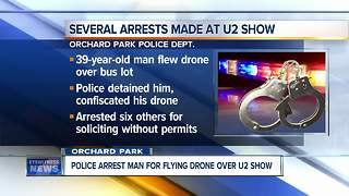 Several arrests made at U2 show - Video
