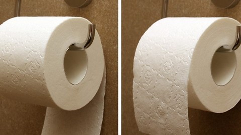 According To The Patent For Toilet Paper, There Is A Correct Way To Hang It