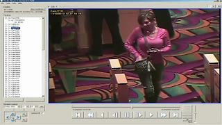 Casino surveillance cameras capture Richmond Hill Explosion perpetrators Monserrate Shirley and Mark Leonard on night on blast - Video