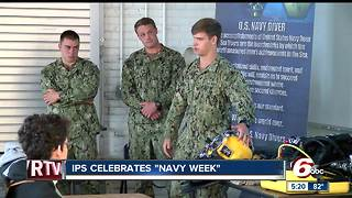 Indianapolis Public Schools celebrate Navy Week - Video