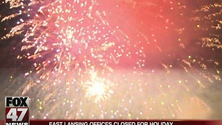 East Lansing offices closed for holiday - Video
