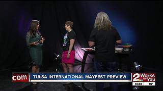 Special guests talk about upcoming Tulsa International Mayfest - Video